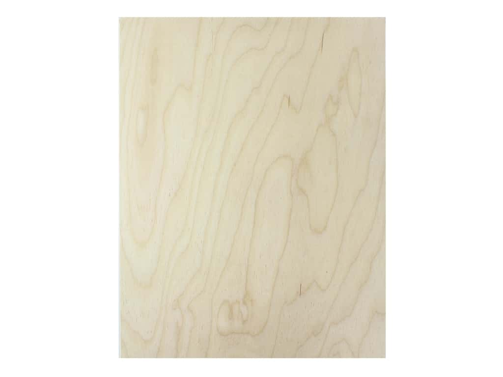 Walnut Hollow Wood Birch Beveled Panel 11 in. x 14 in.