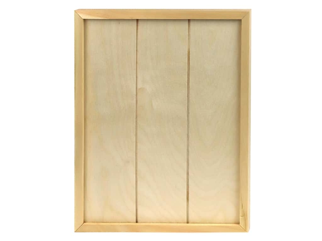 Walnut Hollow Wood Framed Sign Panel Rectangle 14 in. x 11 in.