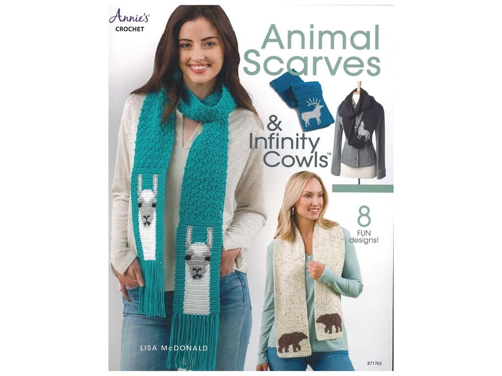 Annie's Animal Scarves & Infinity Cowls Book
