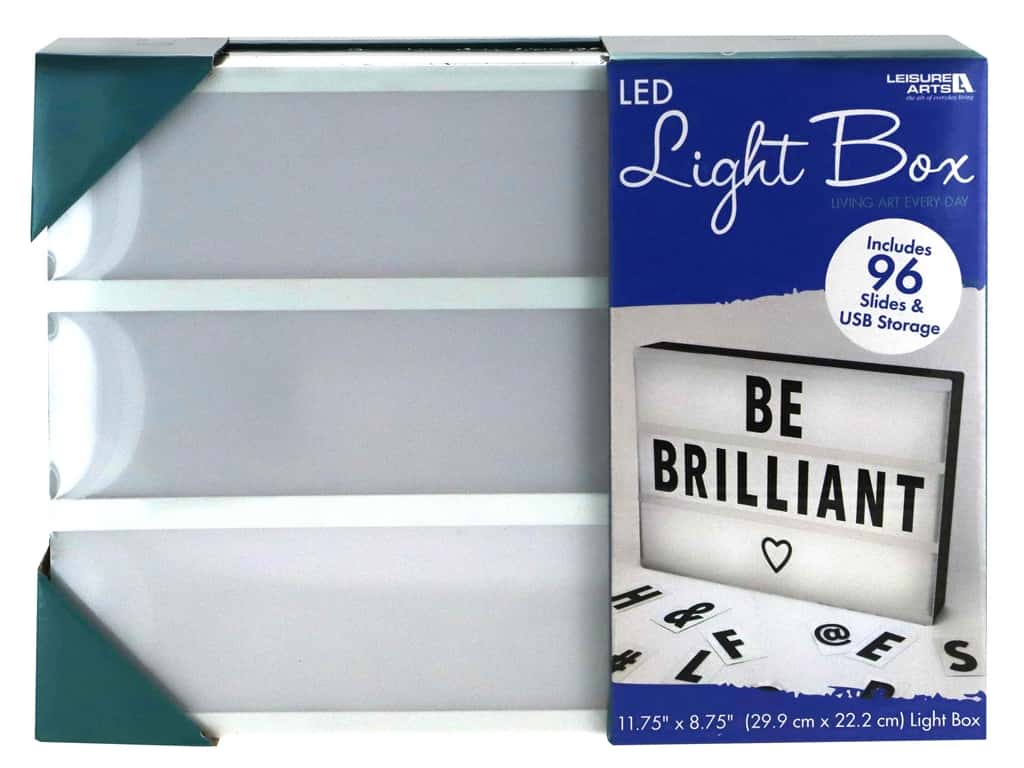 Leisure Arts Light Box LED