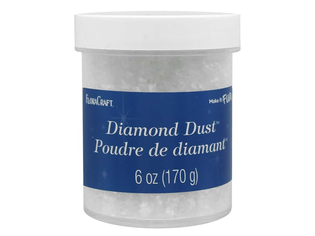 FloraCraft Twinklets Diamond Dust 6 oz.