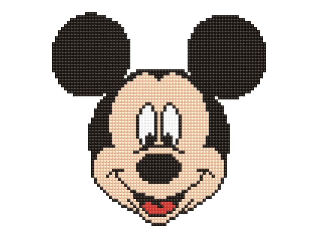 Diamond Dotz Intermediate Kit - Disney Mickey Head