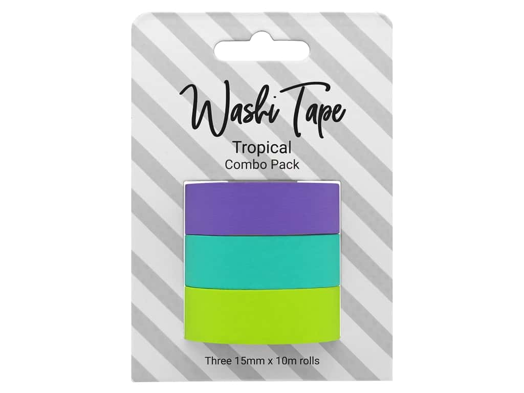PA Essentials Washi Tape Combo Pack 3 pc. Tropical