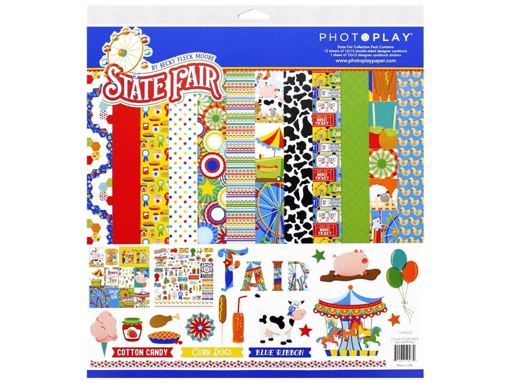 Photo Play 12 x 12 in. Collection Pack State Fair