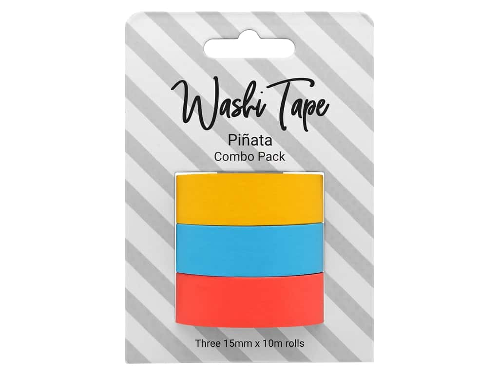 PA Essentials Washi Tape Combo Pack 3 pc. Pinata