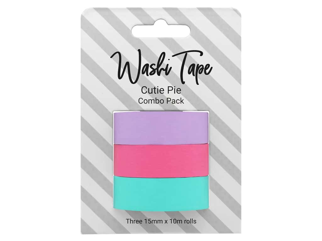 PA Essentials Washi Tape Combo Pack 3 pc. Cutie Pie