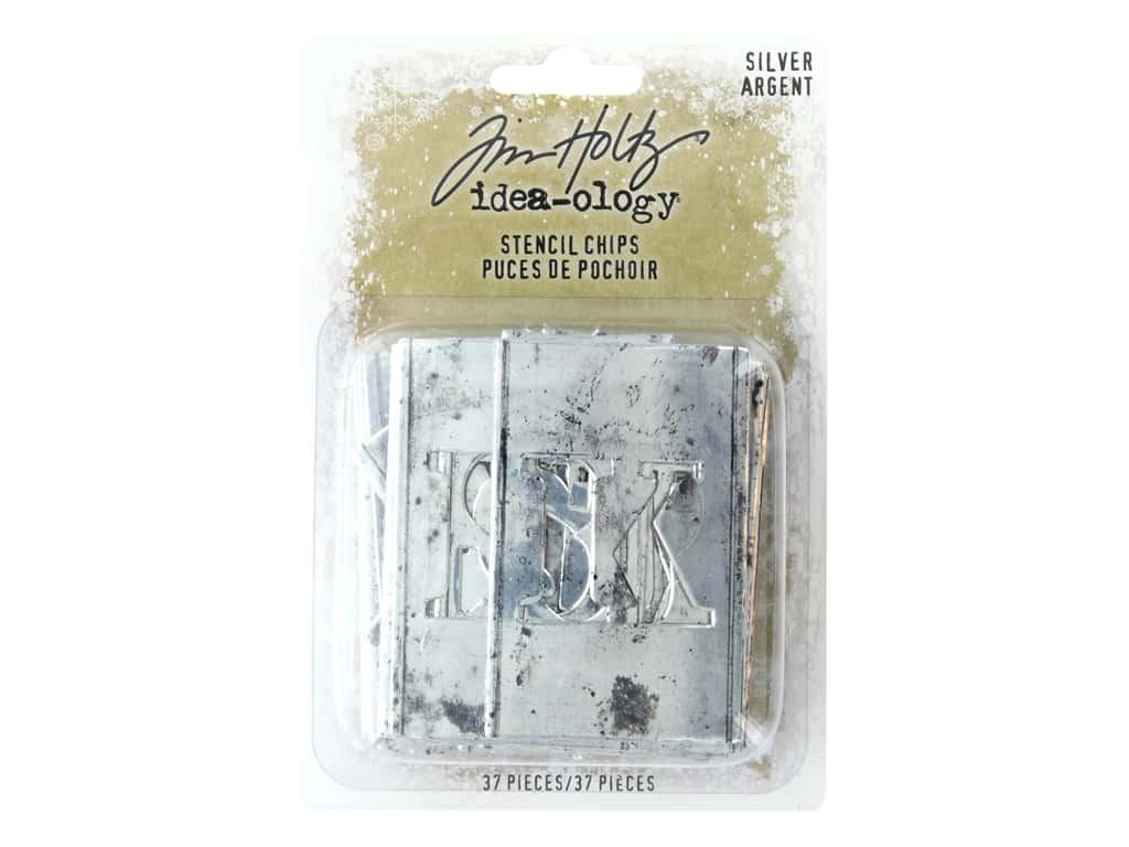 Tim Holtz Idea-ology Christmas Stencil Chips