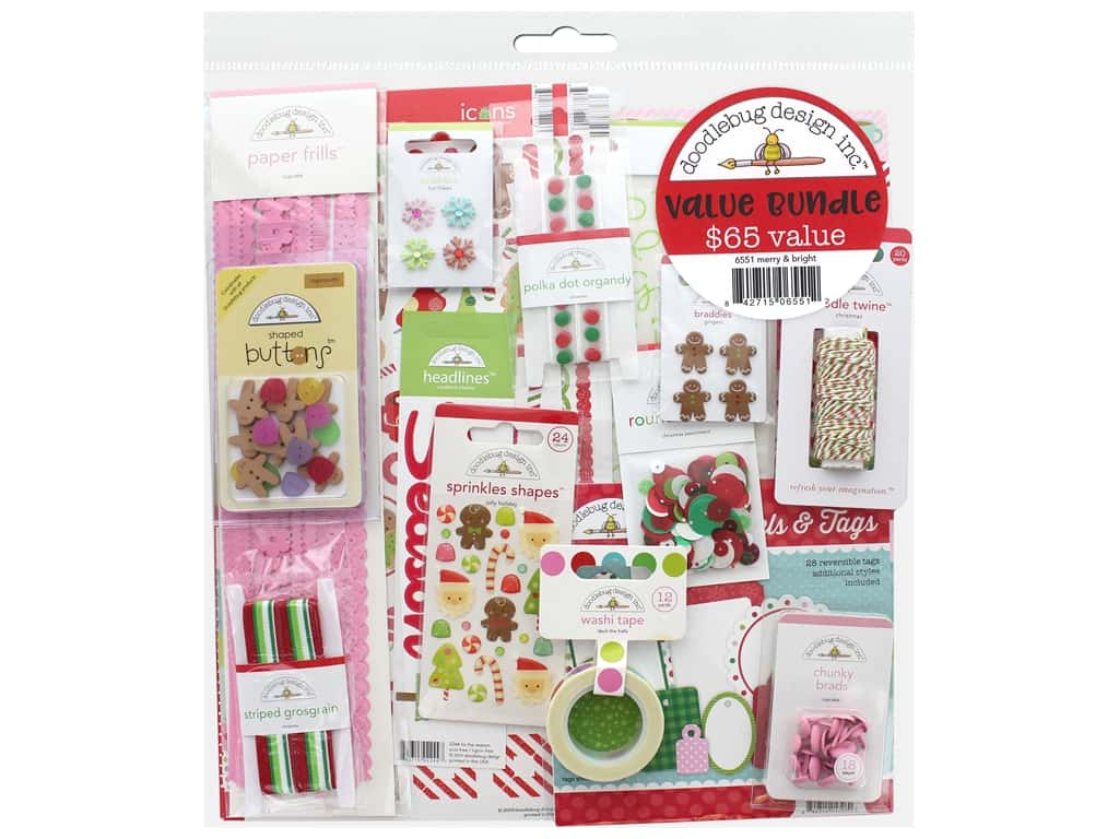 Doodlebug Kit Value Bundle Merry & Bright