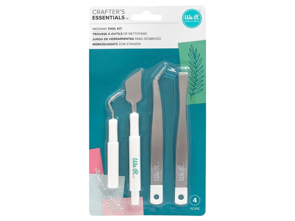 We R Memory Keepers Crafter's Essentials Weeding Hand Tool Kit