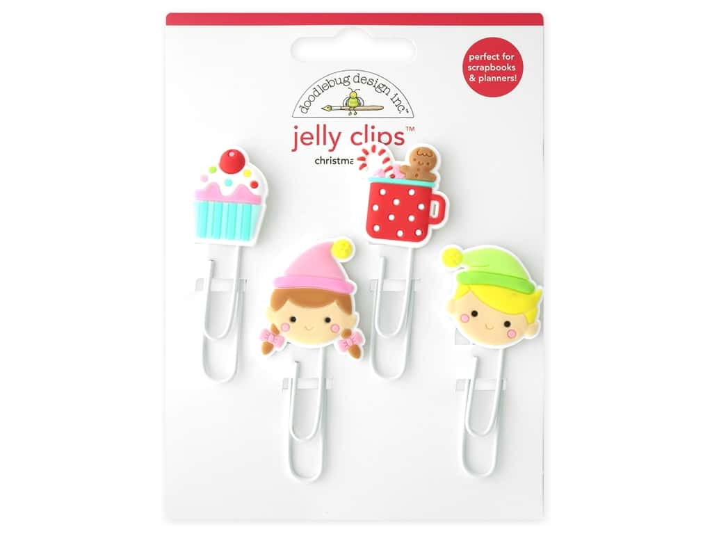 Doodlebug Collection Christmas Magic Jelly Clips
