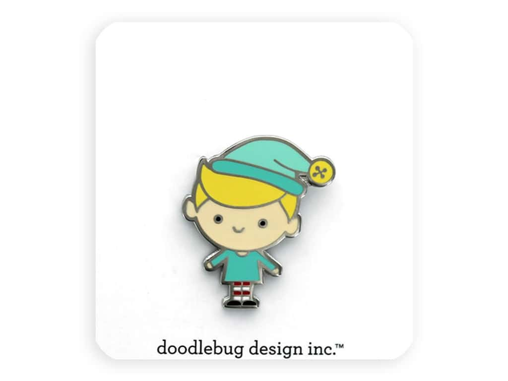 Doodlebug Collection Christmas Magic Collectible Pin Buddy