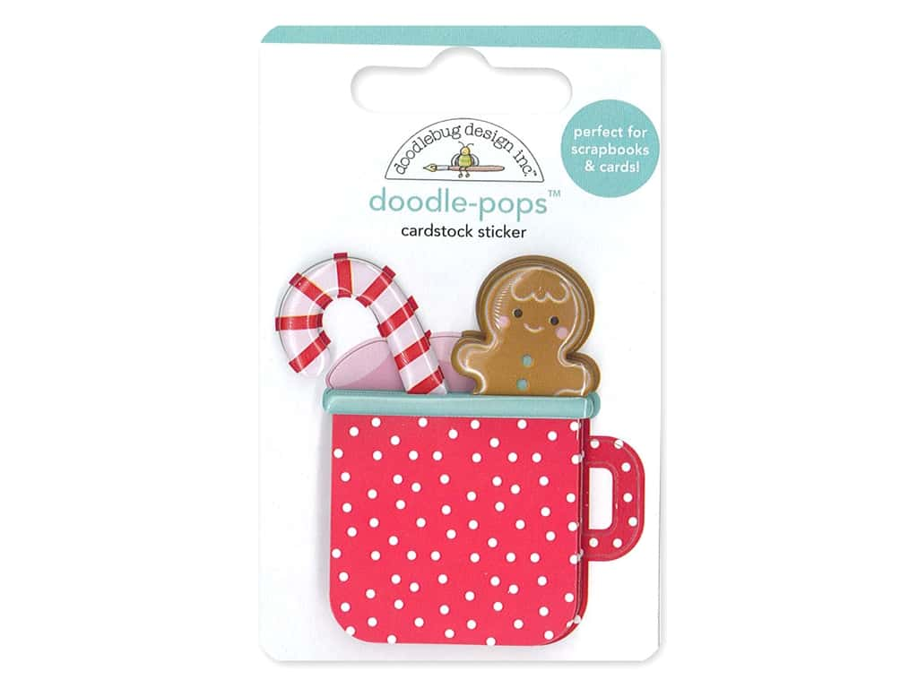 Doodlebug Collection Christmas Magic Doodle Pops Hot Cocoa