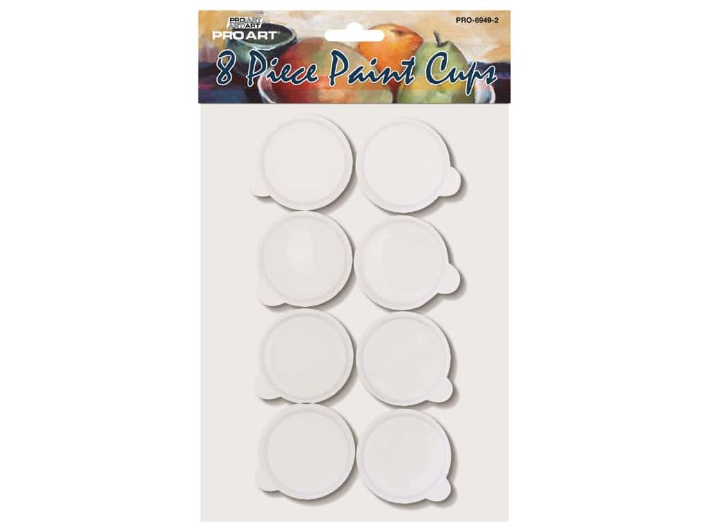Pro Art Storage Cups 2 in. 8 pc