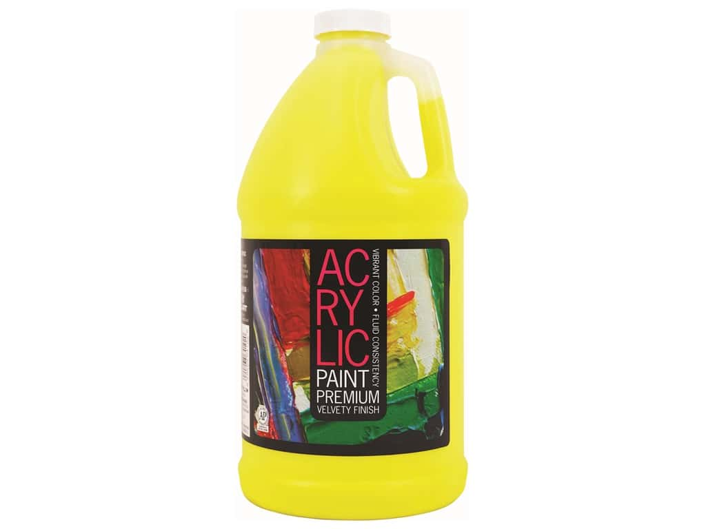 Pro Art Student Acrylic Paint 64 oz. Lemon Yellow