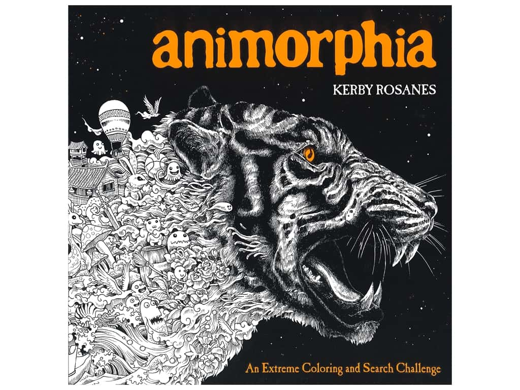 Plume Publishing Animorphia Extreme Coloring Book