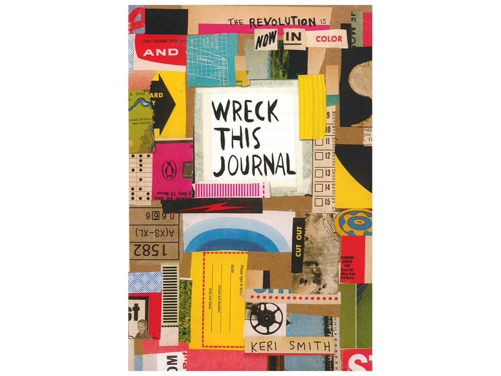 Penguin Wreck This Journal Now In Color Book