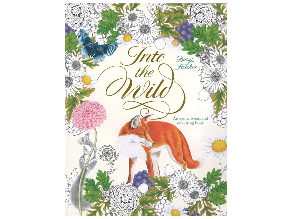 Laurence King Publishing Into The Wild Coloring Book