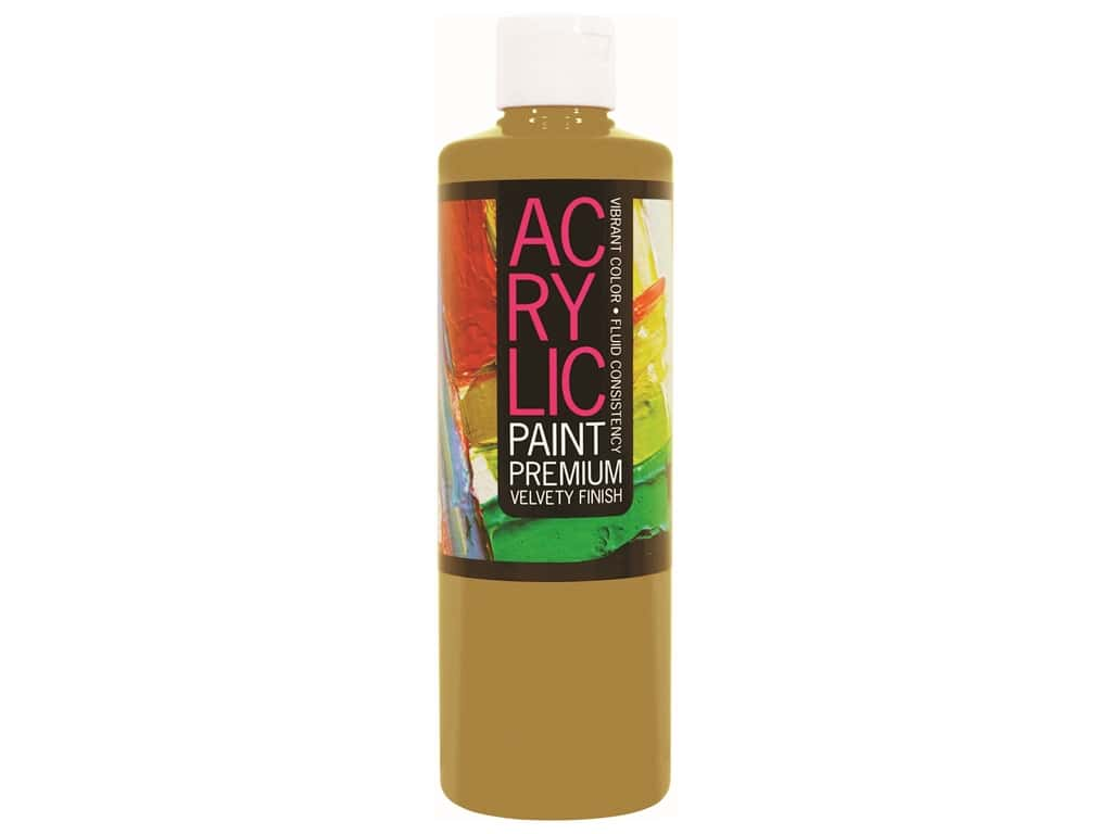 Pro Art Student Acrylic Paint 16 oz. Gold