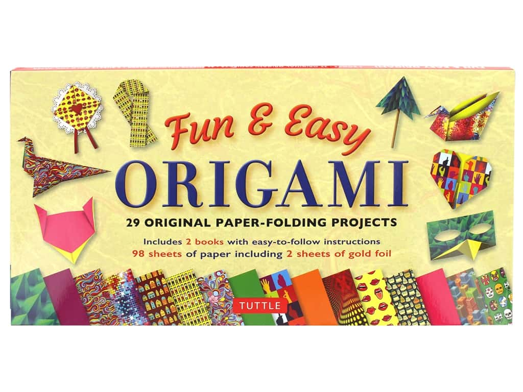 Tuttle Publishing Origami Fun & Easy Kit With 2 How To Book