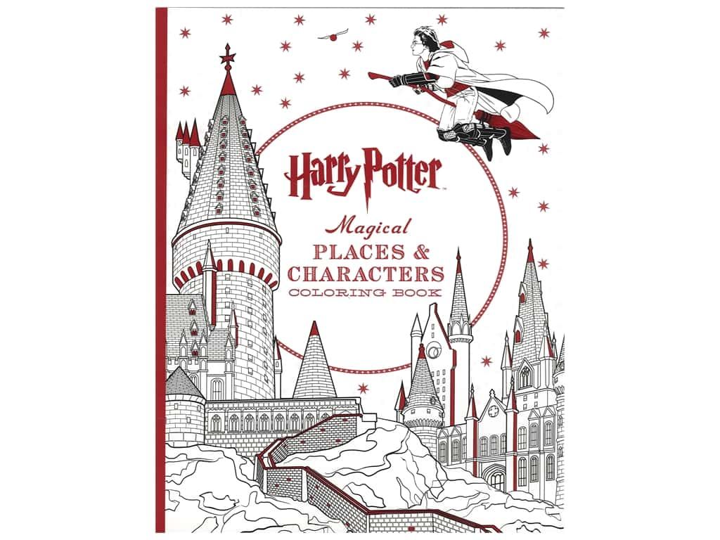 Scholastic Harry Potter Magical Places & Characters Coloring Book