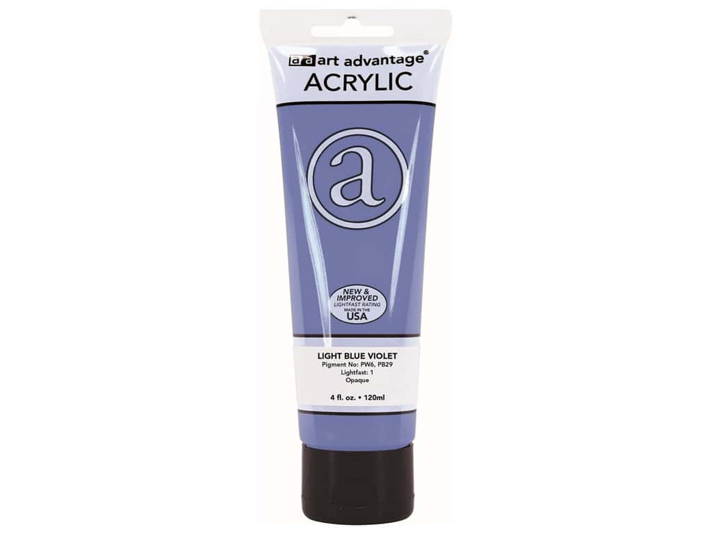Art Advantage Acrylic Paint 4 oz. Light Blue Violet