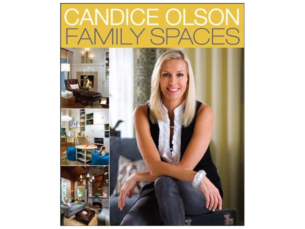 Houghton Mifflin Harcourt Candice Olson Family Spaces Book