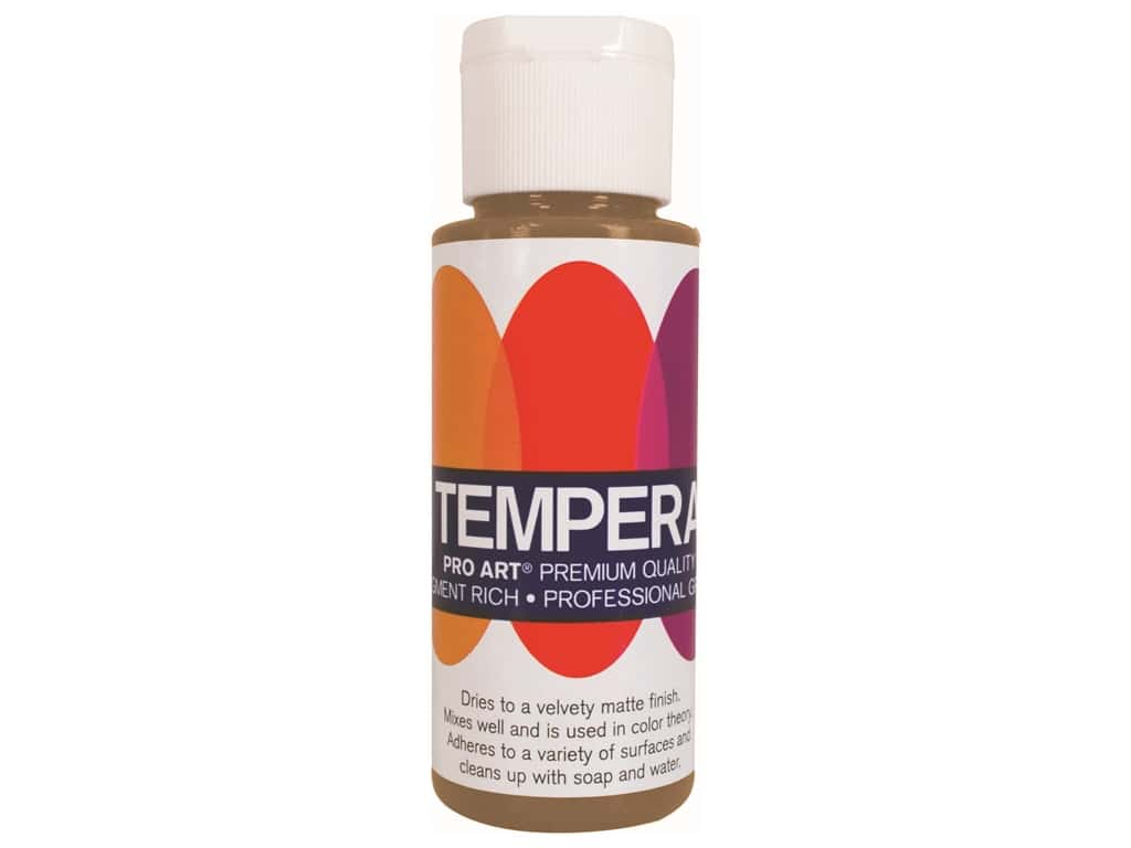 Pro Art Liquid Tempera Paint 2 oz. Metallic Gold