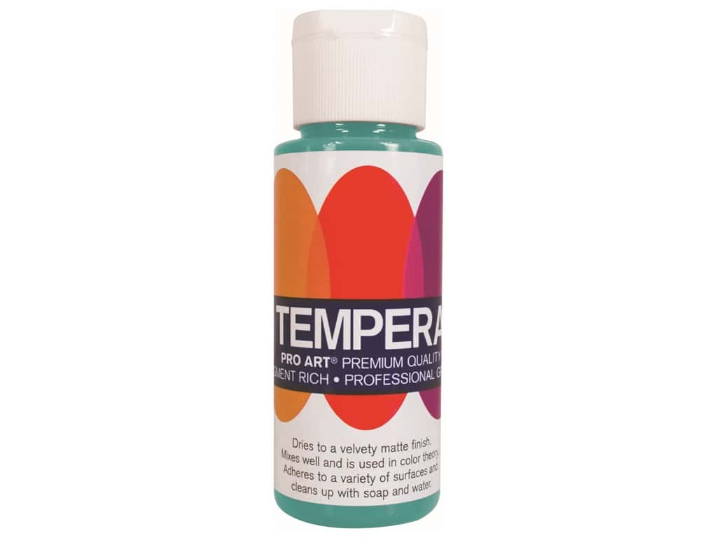 Pro Art Liquid Tempera Paint 2 oz. Turquoise