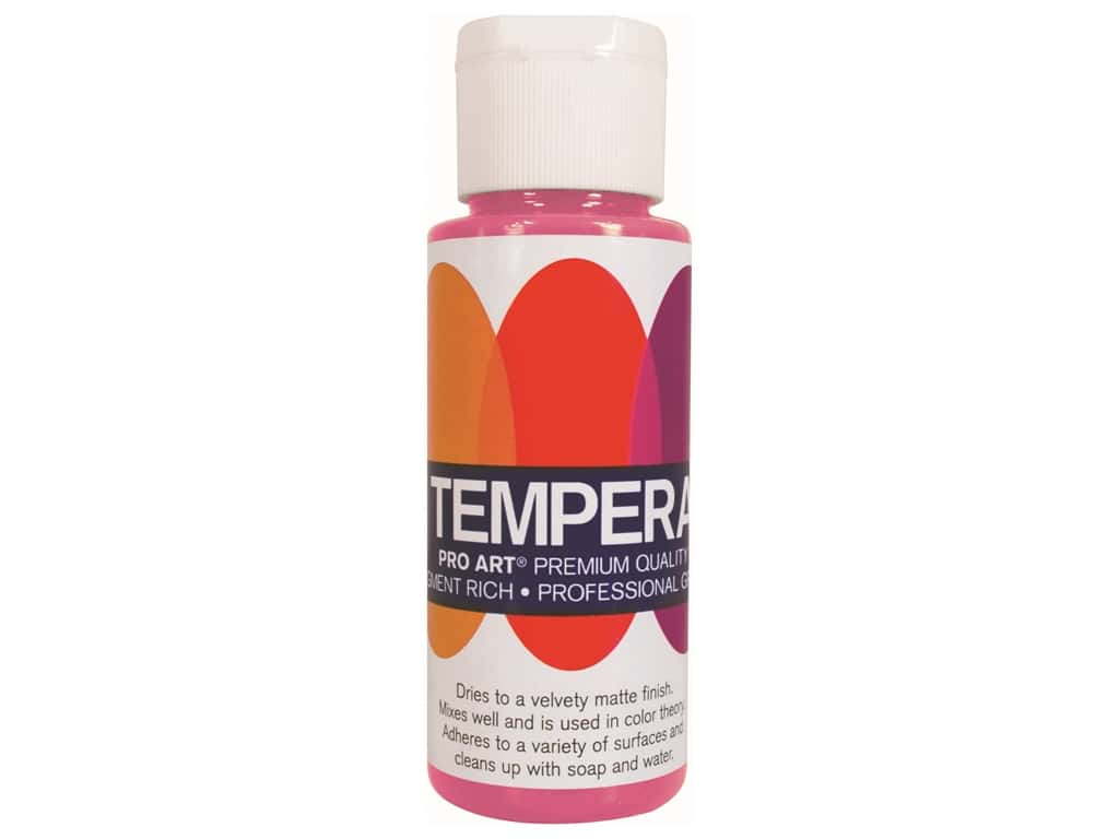 Pro Art Liquid Tempera Paint 2 oz. Magenta