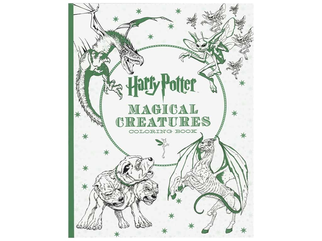 Scholastic Harry Potter Magical Creatures Coloring Book