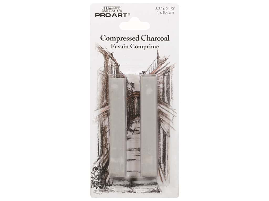 Pro Art Compressed Charcoal 2 pc. Light Grey