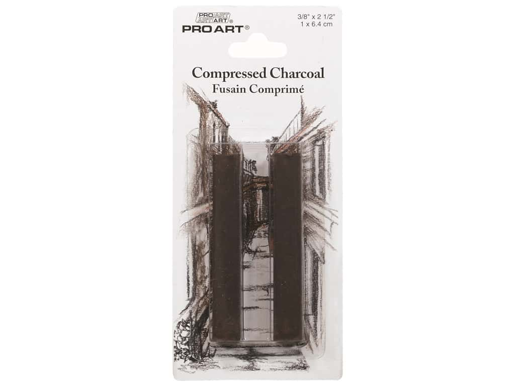 Pro Art Mark Compressed Charcoal Sepia  2 pc