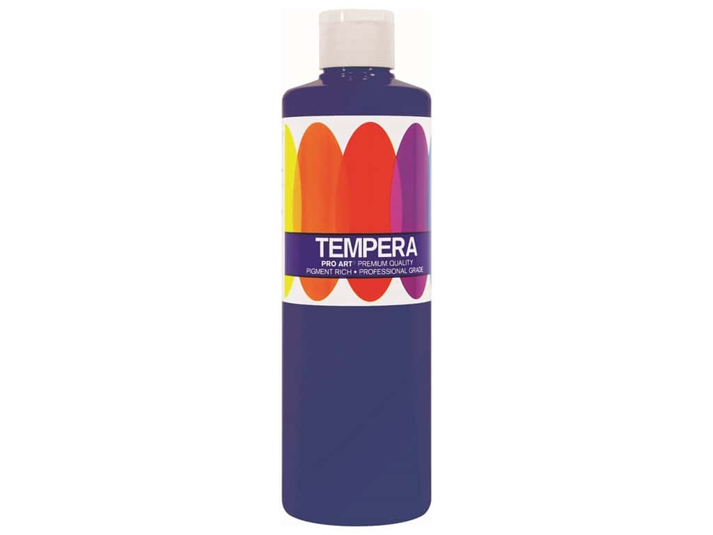 Pro Art Liquid Tempera Paint 8 oz. Ultra Blue