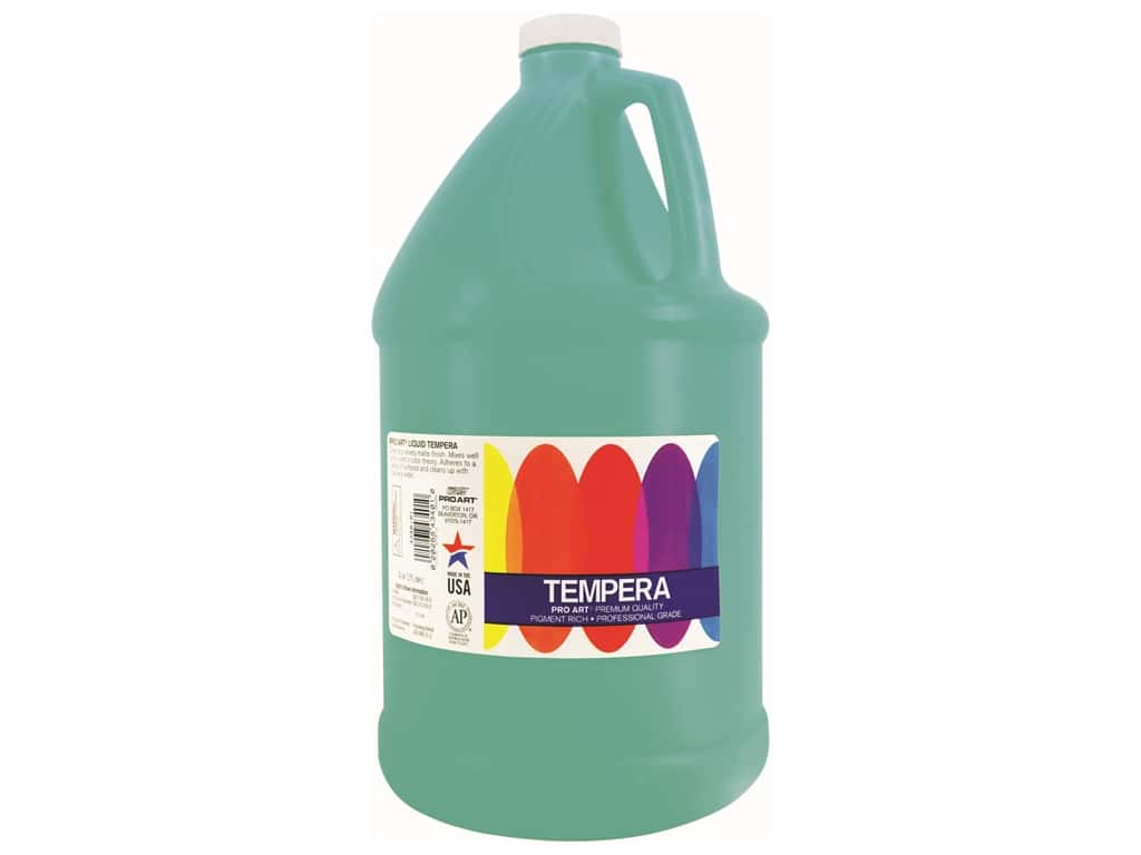 Pro Art Liquid Tempera Paint Gallon Turquoise