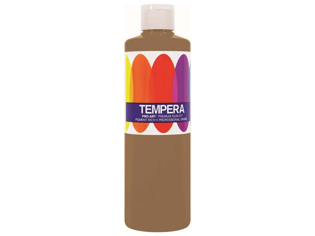 Pro Art Liquid Tempera Paint 8 oz. Metallic Gold