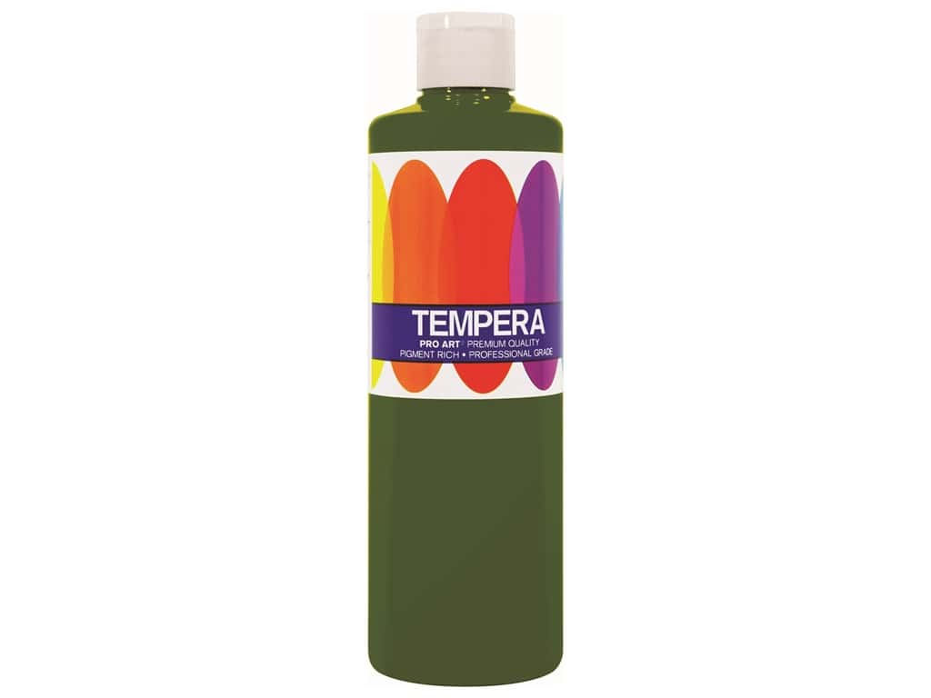 Pro Art Liquid Tempera Paint 8 oz. Green