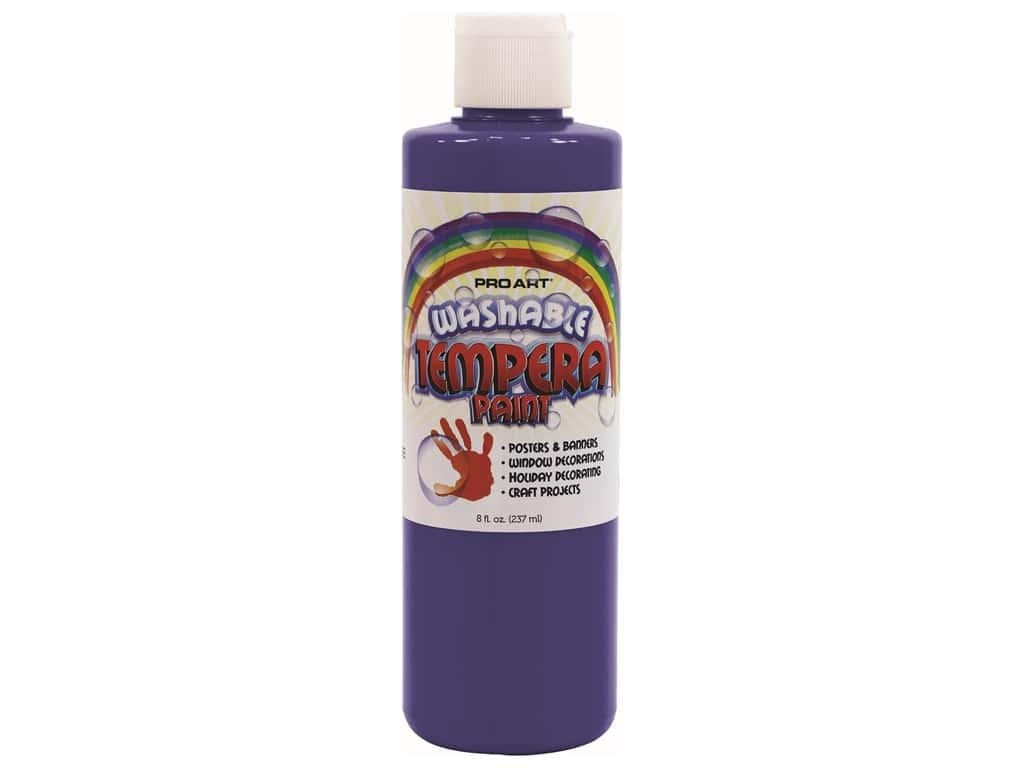 Pro Art Washable Tempera Paint 8 oz. Blue