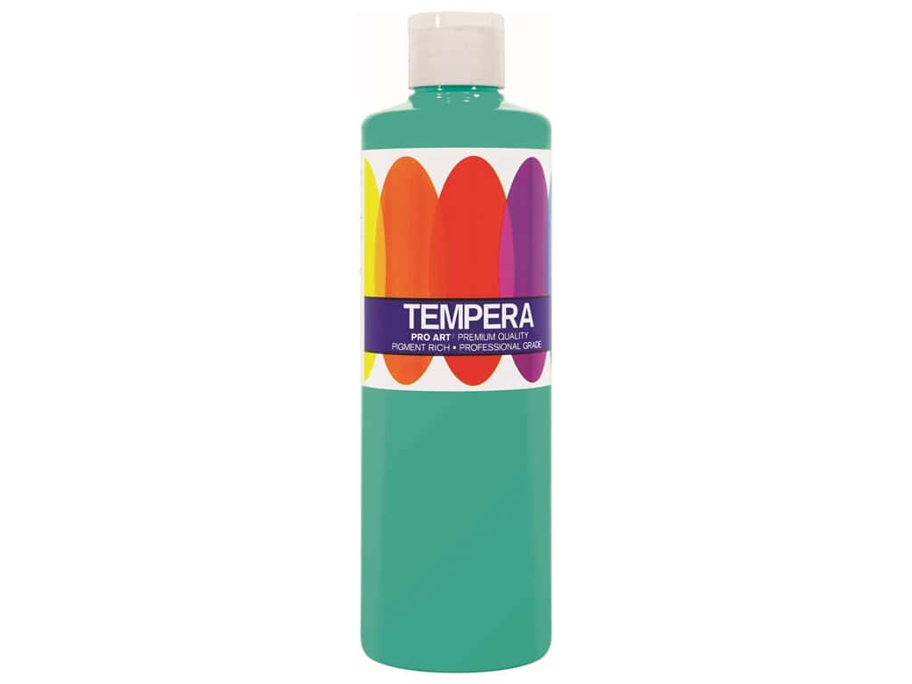 Pro Art Liquid Tempera Paint 8 oz. Turquoise