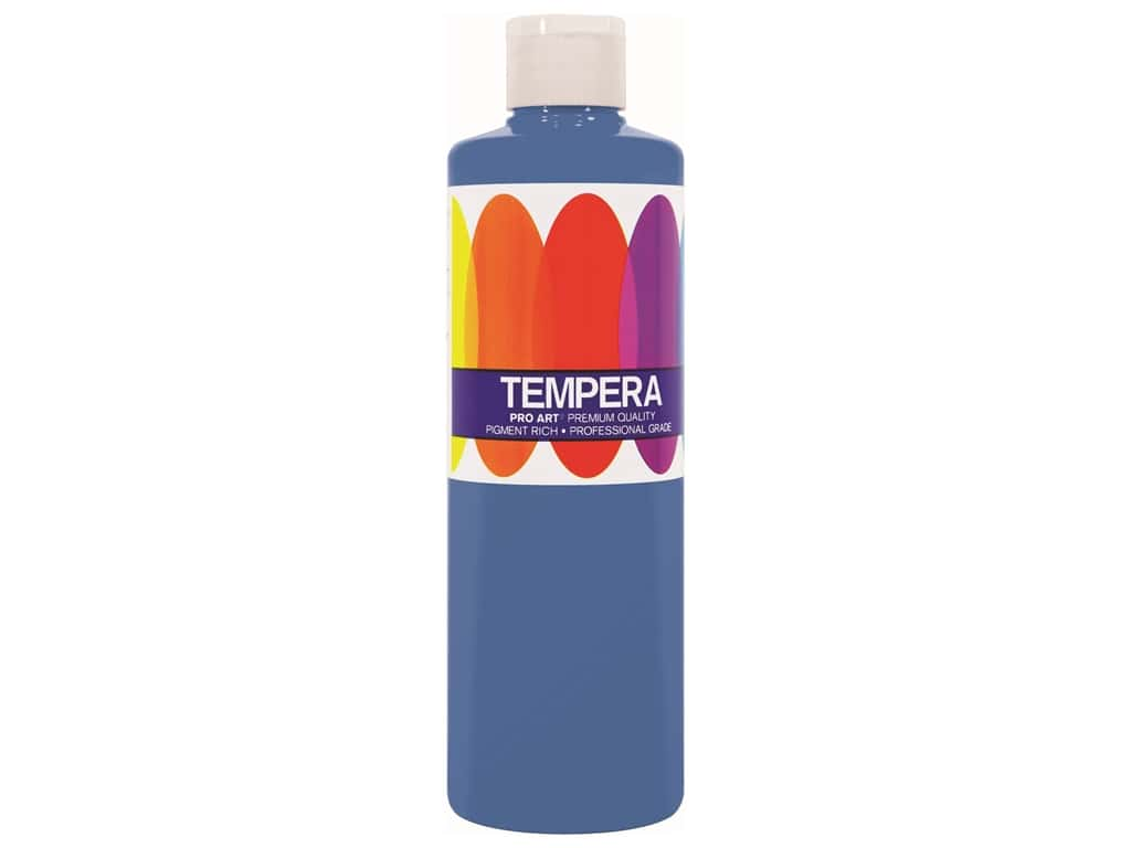 Pro Art Liquid Tempera Paint 8 oz. Phthalo Blue
