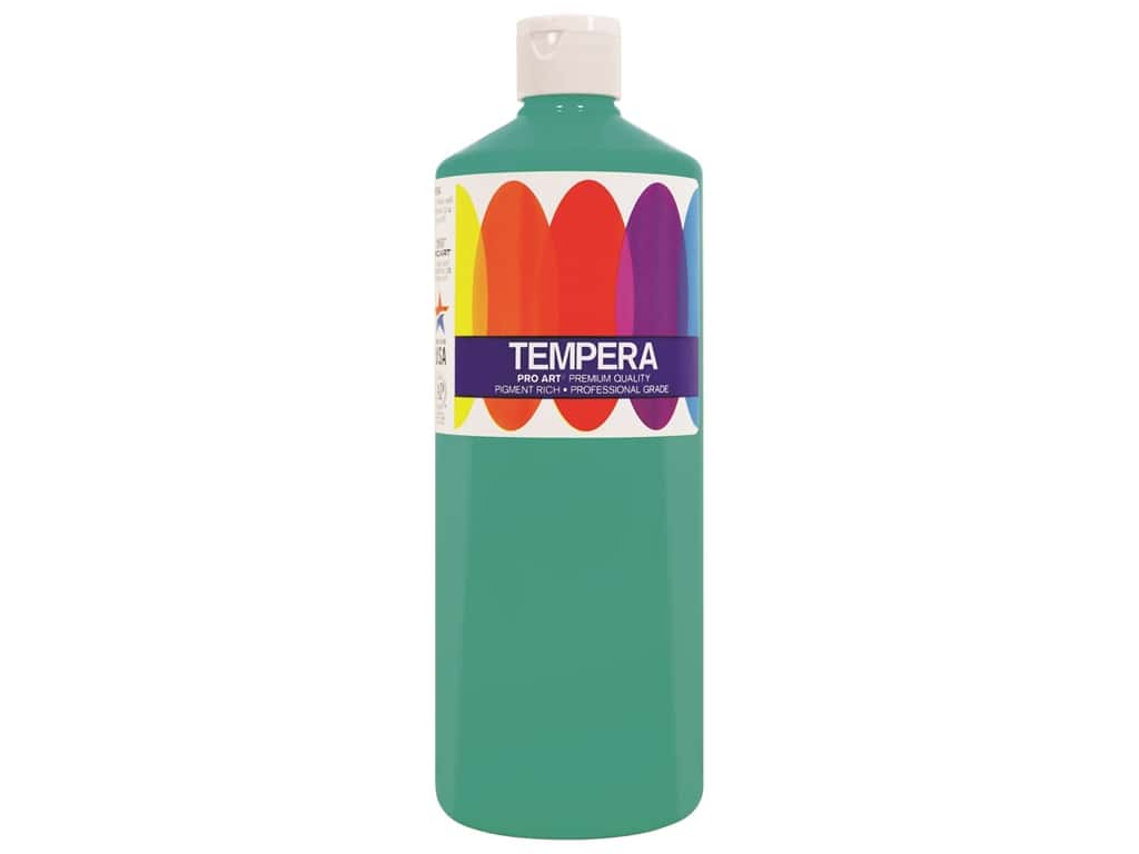 Pro Art Liquid Tempera Paint 16 oz. Turquoise