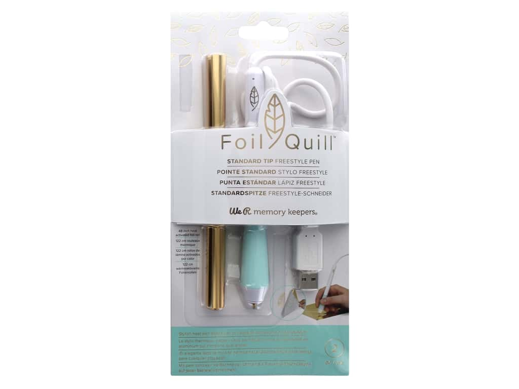 We R Memory Keepers Foil Quill Freestyle Pen - Standard Tip