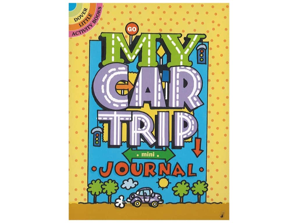 Dover Publications Little My Car Trip Mini-Journal Book