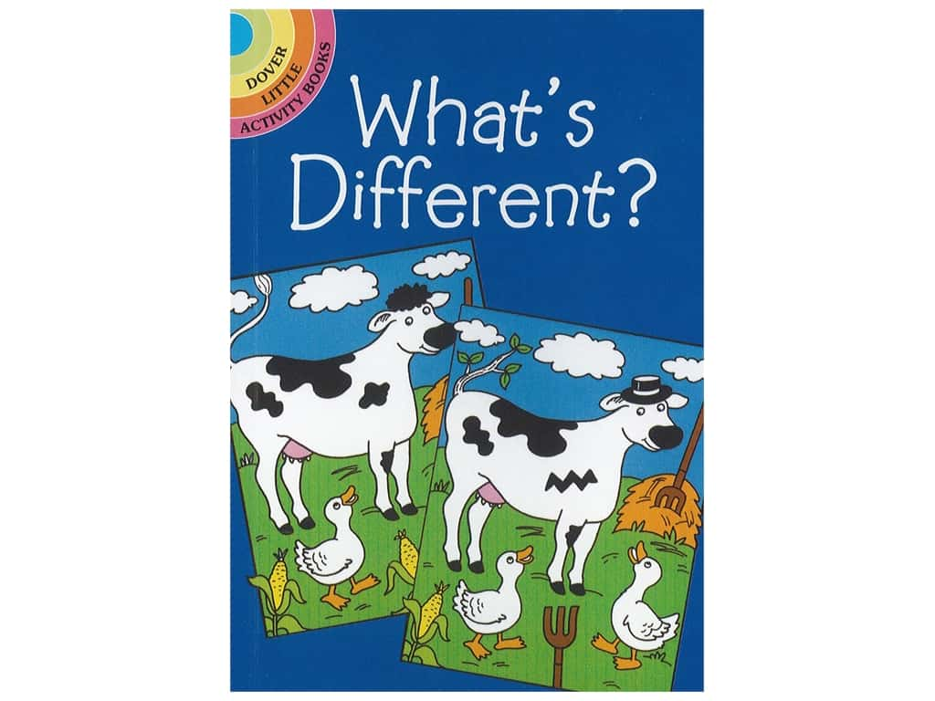 Dover Publications Little What's Different? Book
