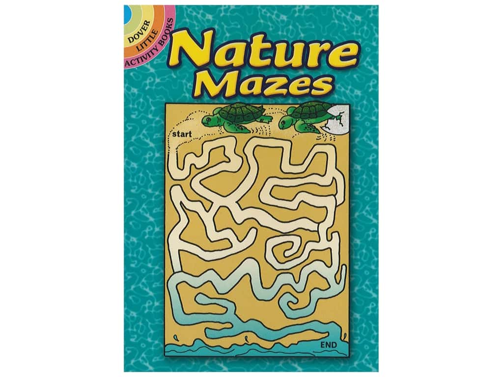 Dover Publications Little Nature Mazes Book