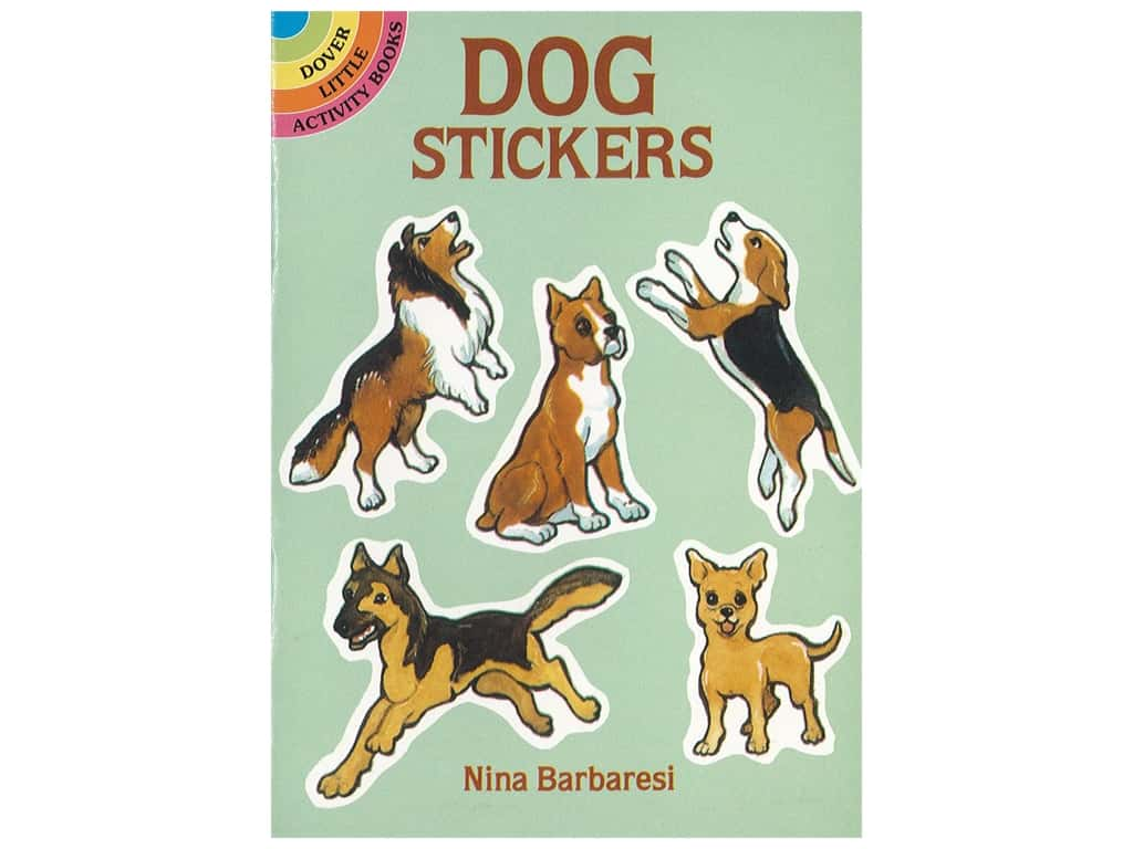 Dover Publications Little Dog Stickers Book