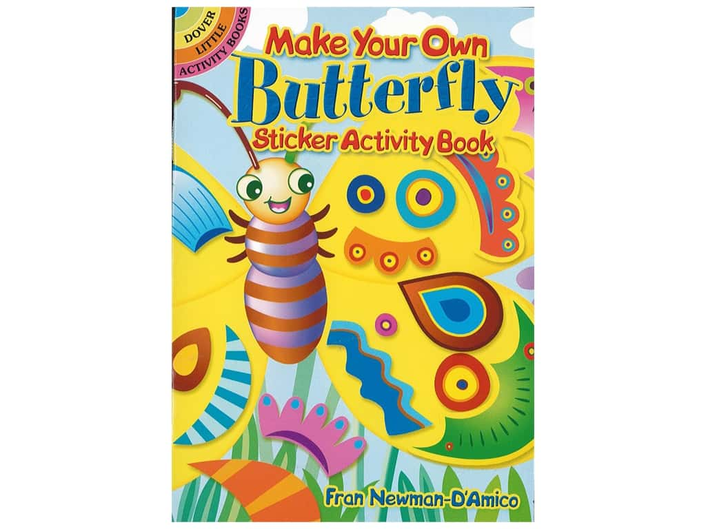 Dover Publications Little Make Your Own Butterfly Sticker Book