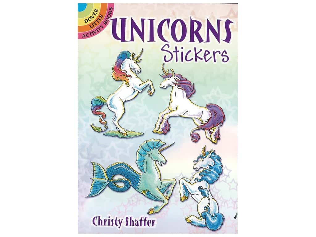 Dover Publications Little Unicorn Sticker Book