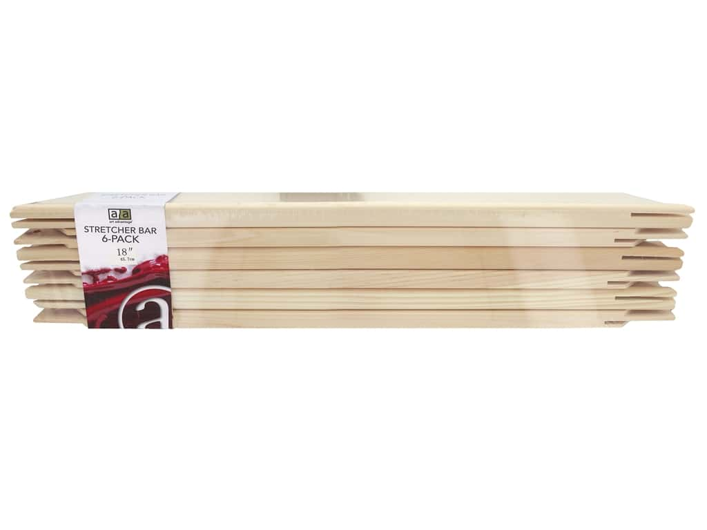 Art Advantage Stretcher Bar 18 in. Pine (6 pieces)