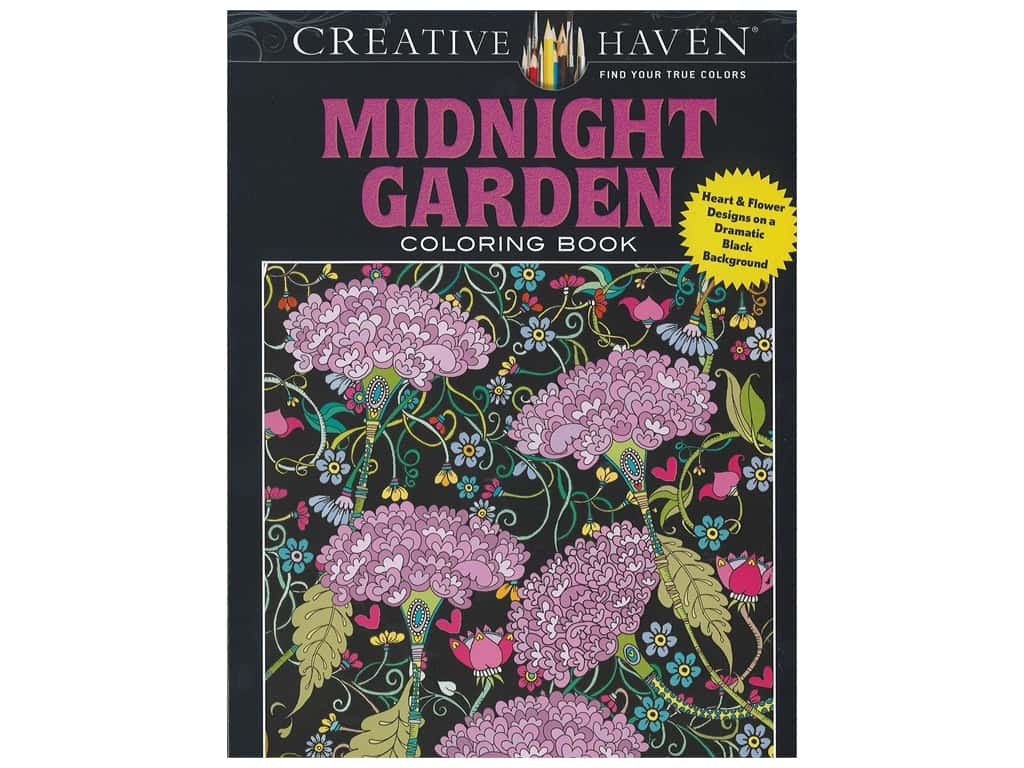 Dover Publications Creative Haven Midnight Garden Coloring Book