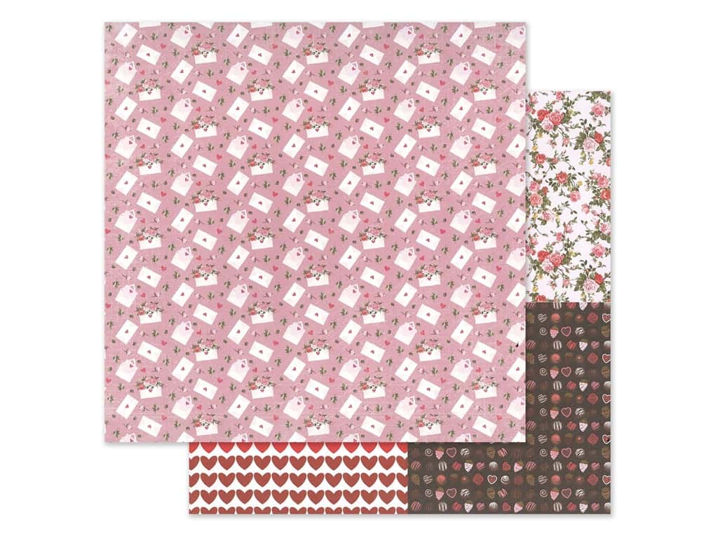 Photo Play 12 x 12 in. Paper Be Mine Love Letter (25 pieces)